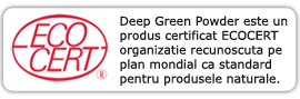 Certificare Deep Green Powder